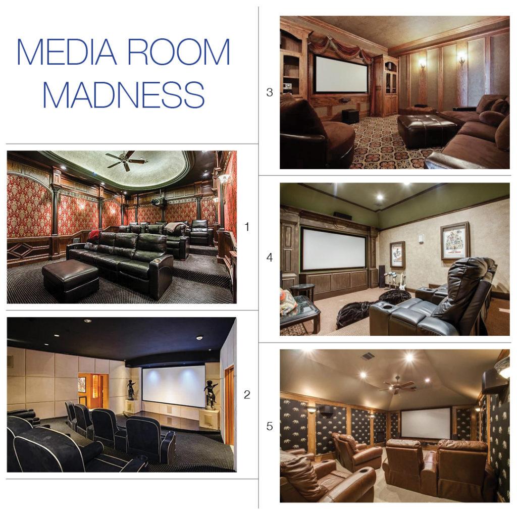 media room madness