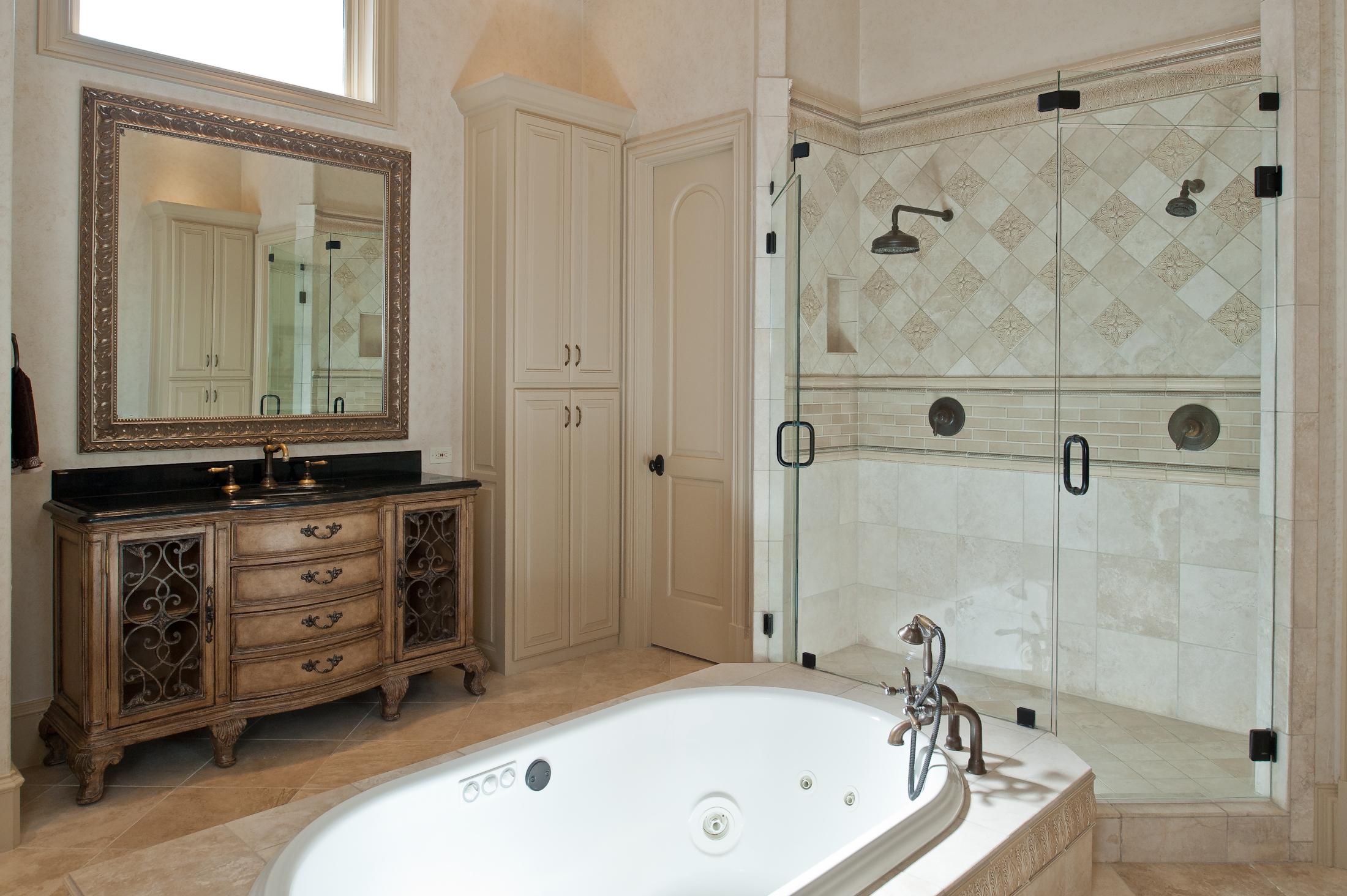 Love where you live- master bathroom
