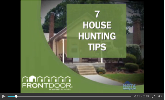 7 house hunting tips