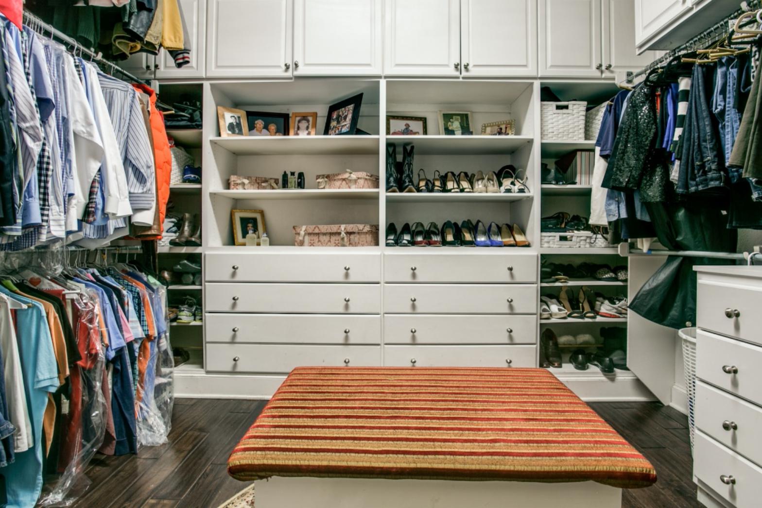 Love Where You Live: Master Closet