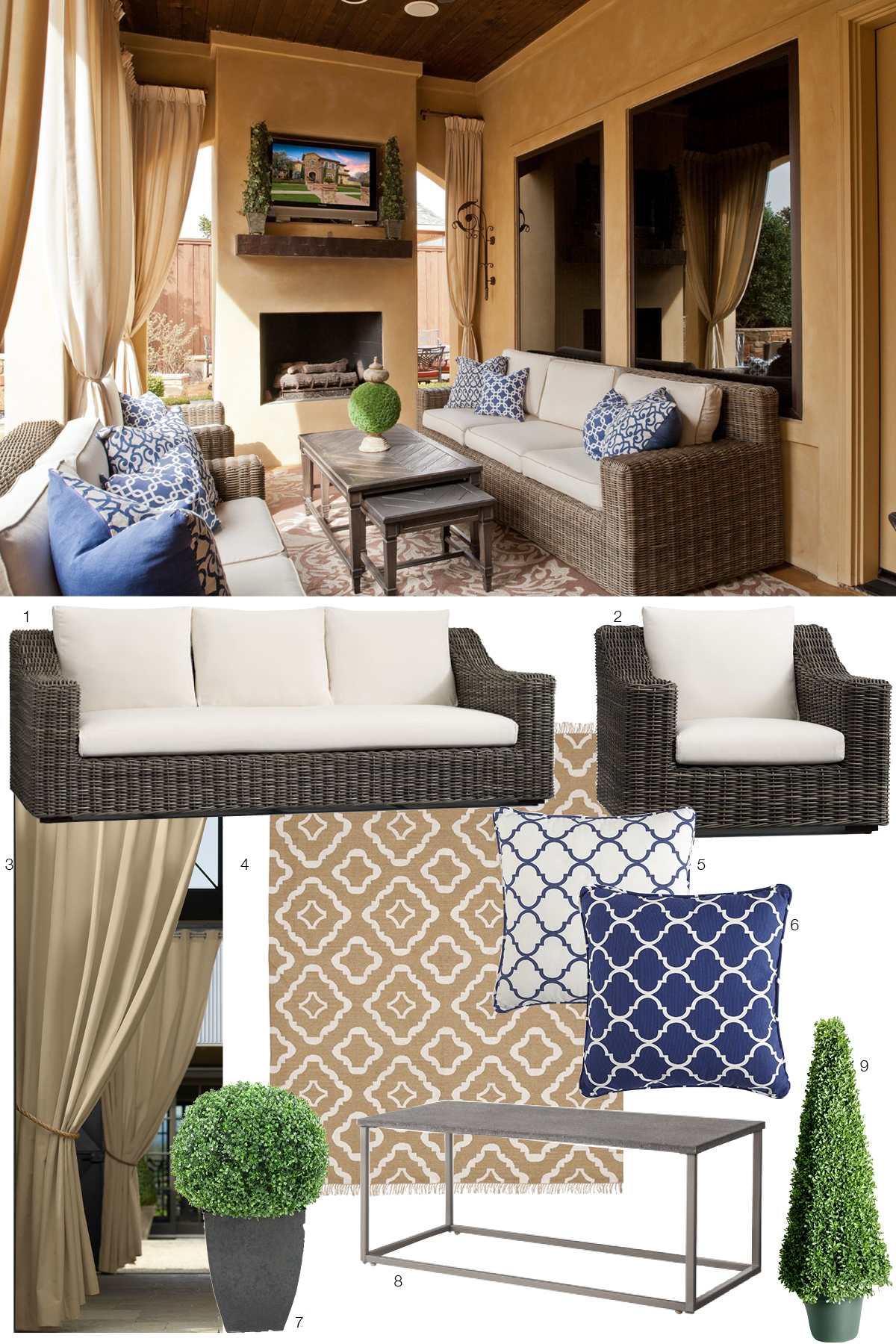 Room Re-do & Sales: Outdoor Oasis