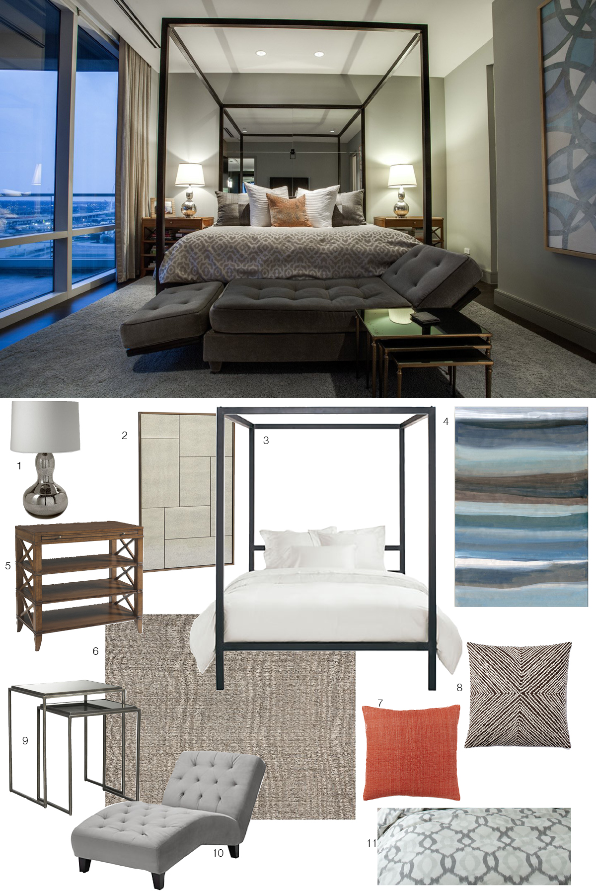 Room Re-do: High-Rise Luxury Bedroom