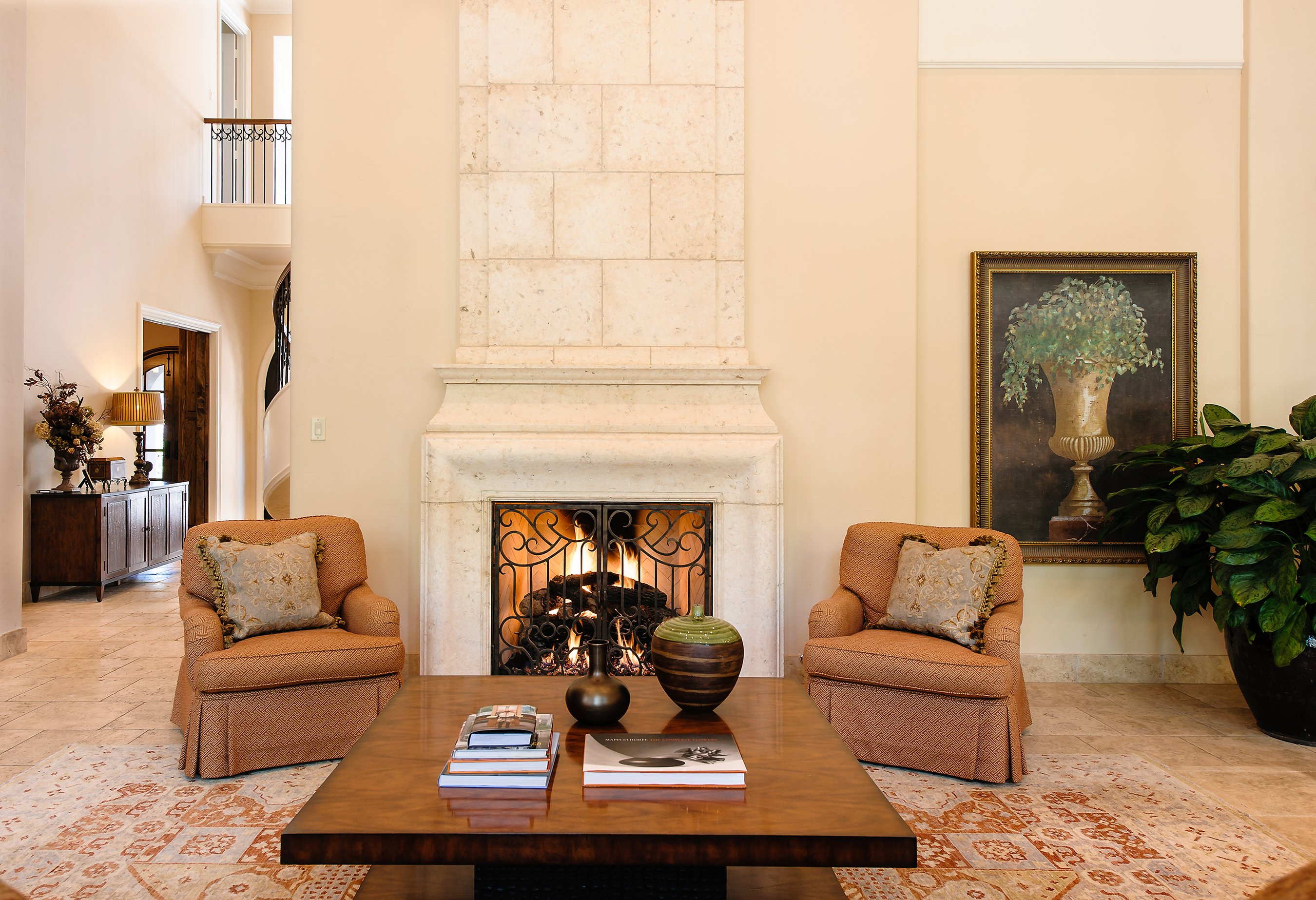 Feature We Love: Stone Fireplaces