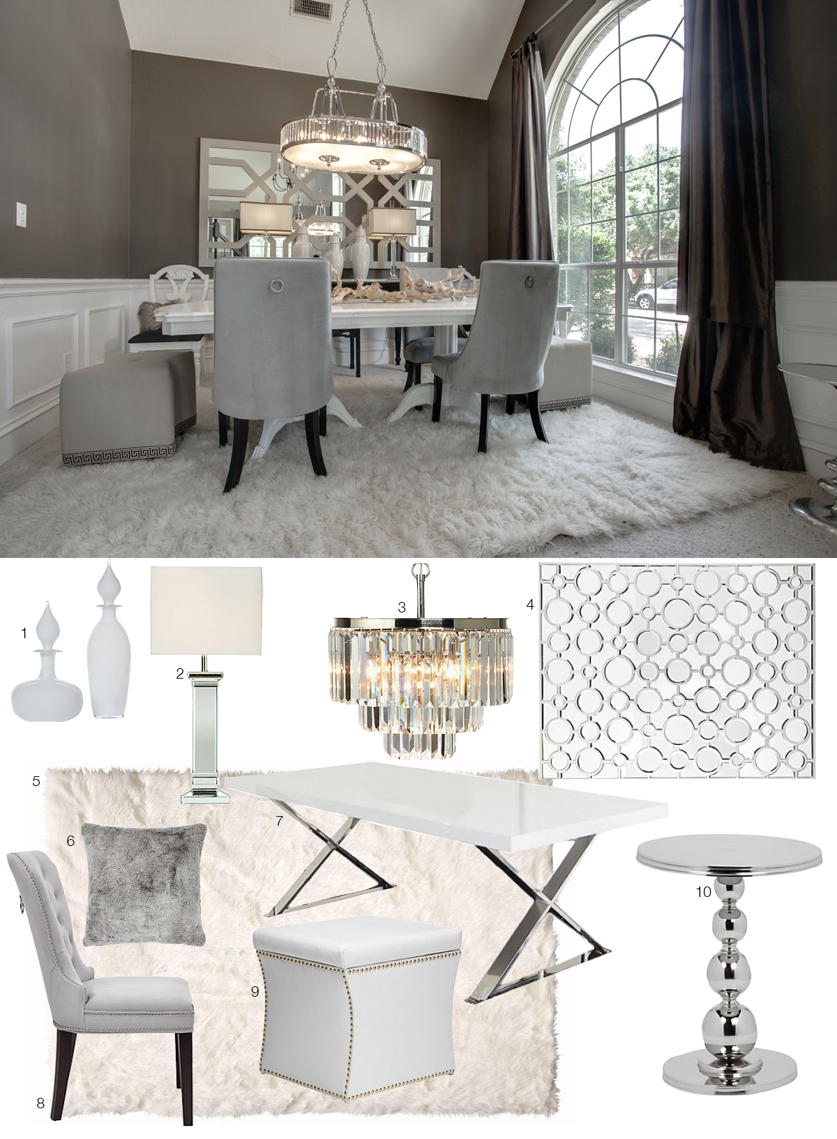 Room Re-Do: Luxe Dining Room