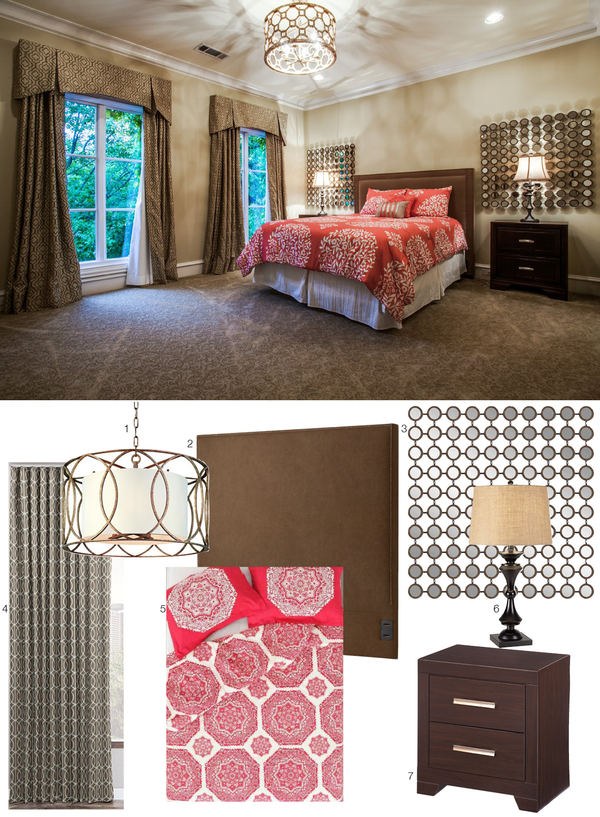 Room Re-Do: Glam Guestroom