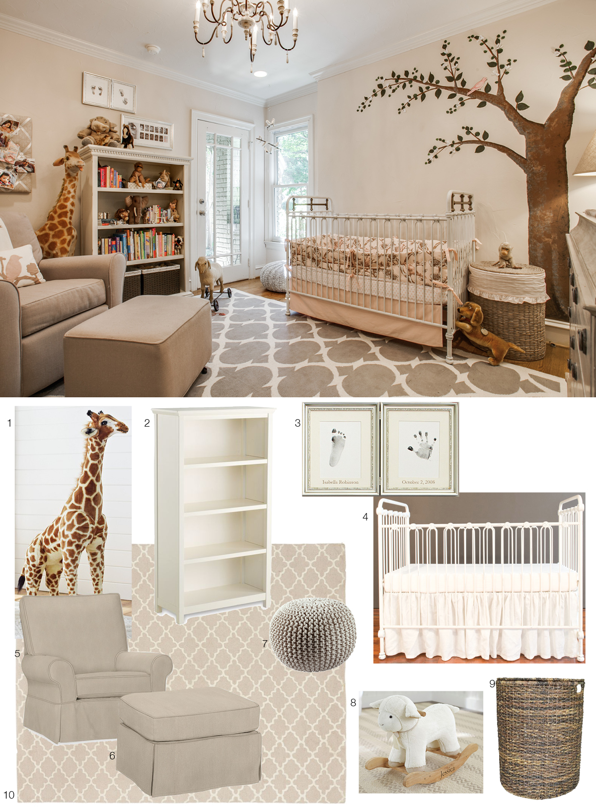 Room Re-do: Sweet, Serene Nursery