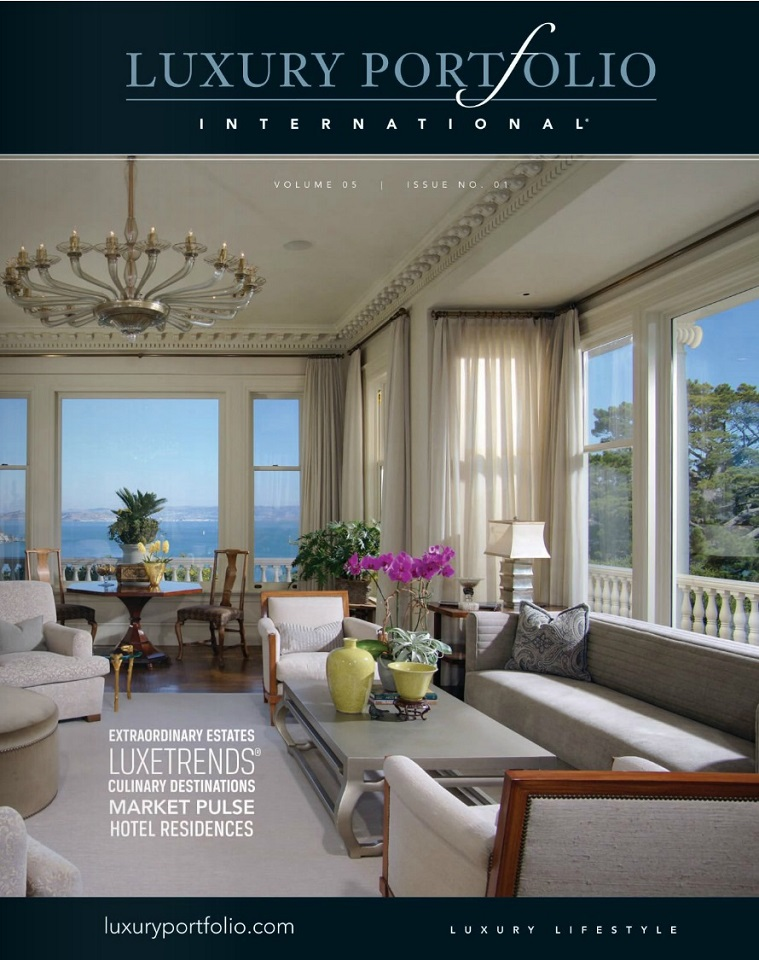 Luxury Portfolio Magazine Delivers