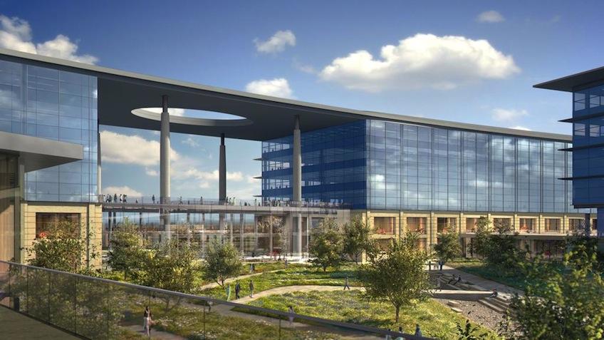 Toyota Unveils Plano Campus Plans