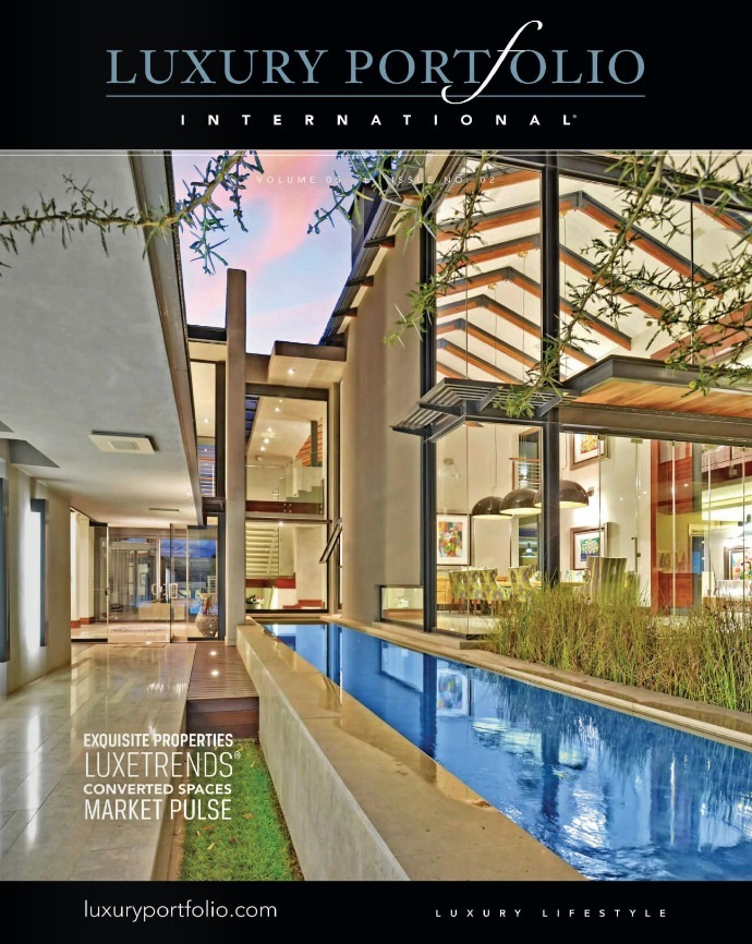 Luxury Portfolio International Magazine Delivers