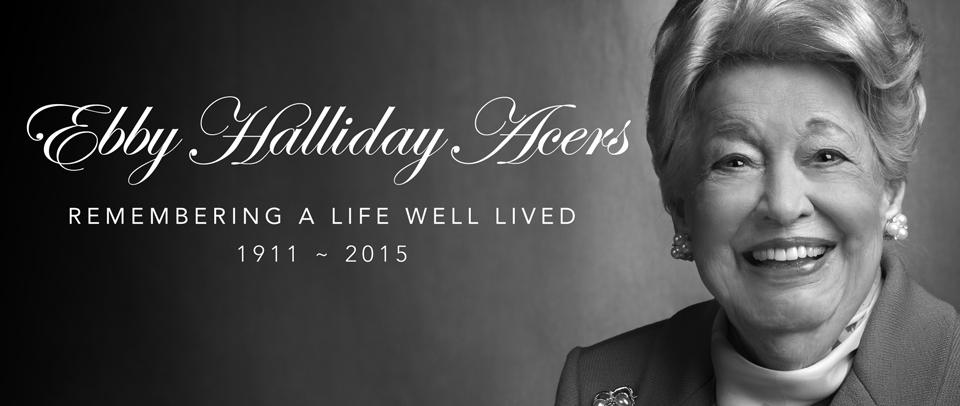 In Memoriam: Ebby Halliday Acers