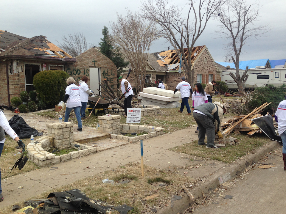 Team Ebby Assists Victims of Tornadoes