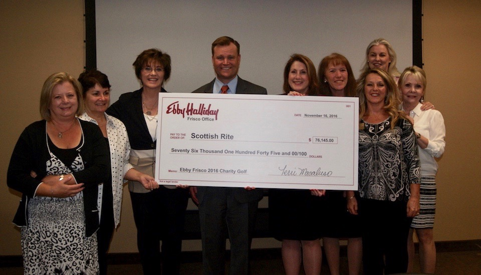 Ebby's Frisco Office Raises $76,000 for TSRHC