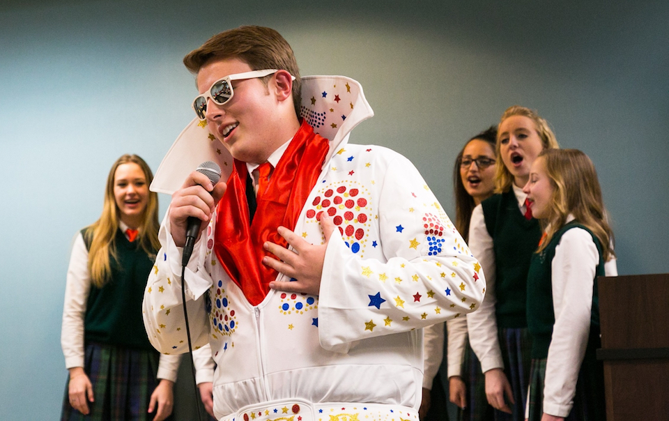 Happy Hill Farm Choir Spreads Holiday Cheer