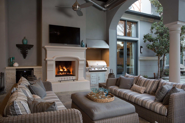 5003 horseshoe outdoor fireplace