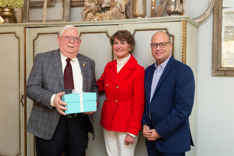 25-Year Pin Awarded to Members of Ebby Family