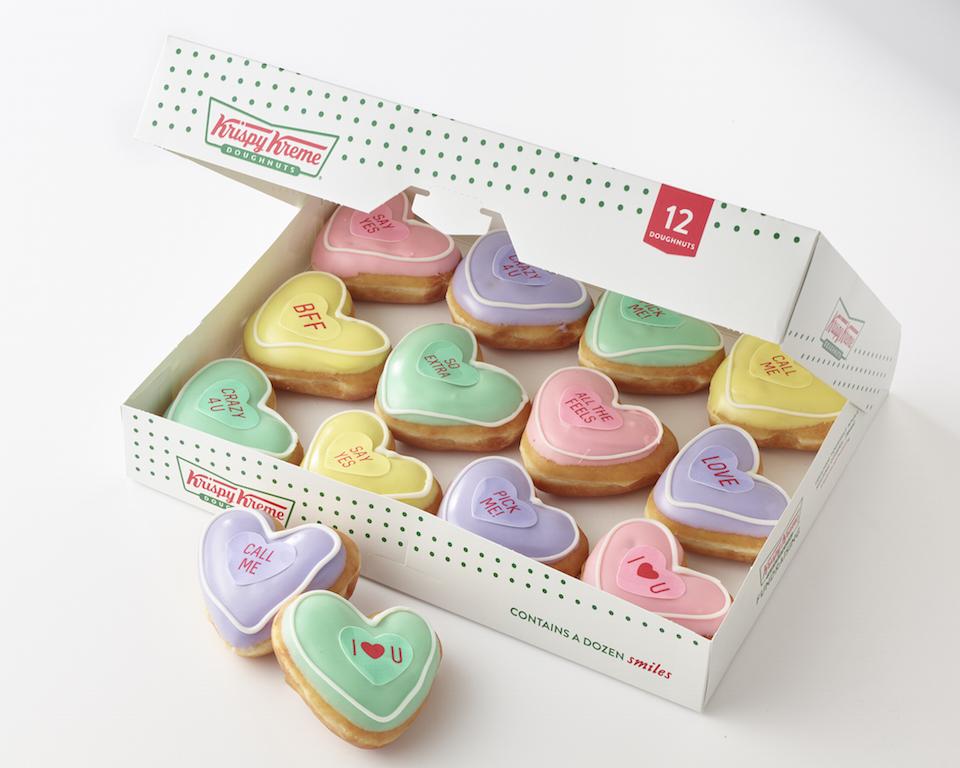 4 Krispy Kreme