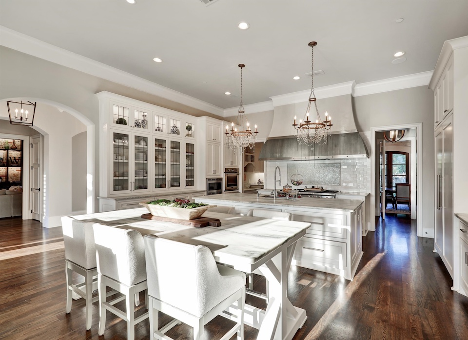 Stunning kitchen at 1320 Fanning Street in Southlake, Texas.