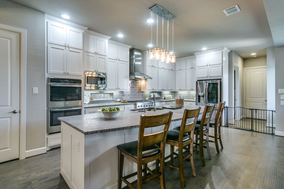 Charming kitchen at 6306 Montgomery Drive in Rowlett, TX