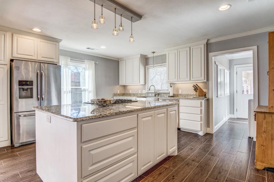 Lovely kitchen at 113 Poppy Lane in McKinney, TX