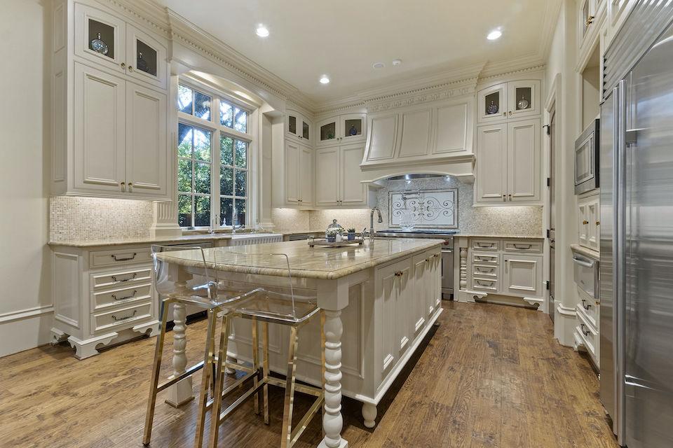 Elegant kitchen at 3909 Centenary Avenue in University Park, TX