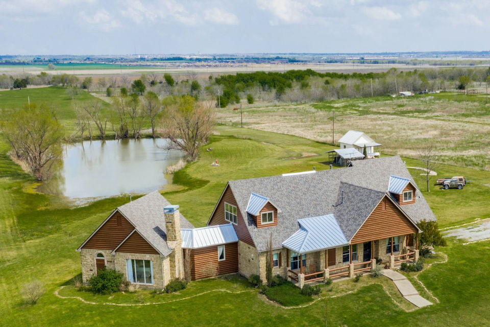 Ranch-style home at 1271 Shelby Lane in Celina, Texas
