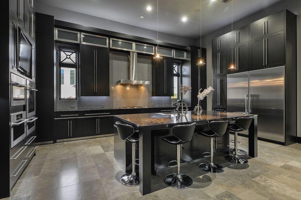 Gourmet kitchen at 414 Lakeway Drive in Allen, TX