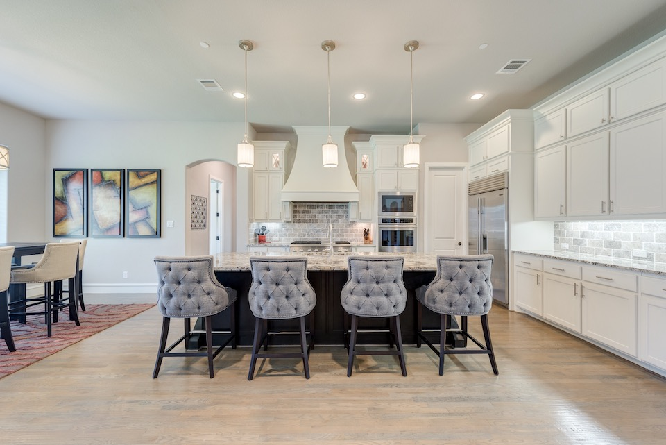 Fabulous kitchen at 820 Rhone Lane in Southlake, Texas.
