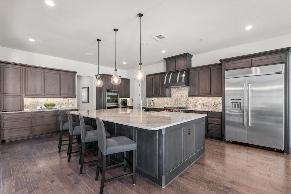 Luxurious kitchen at 901 Charleston Drive in Southlake, TX