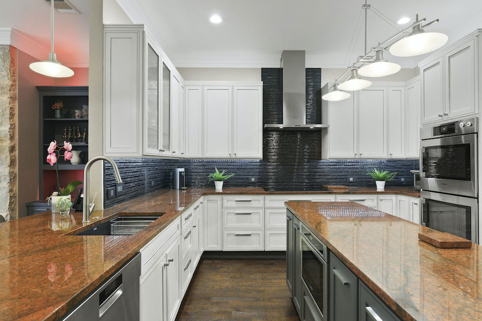 Impressive kitchen at 4621 Firestone Drive in Frisco, Texas.