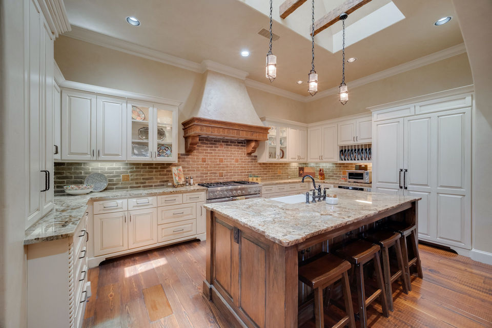 Beautiful chef's kitchen at 323 Oxford Place in Coppell, TX