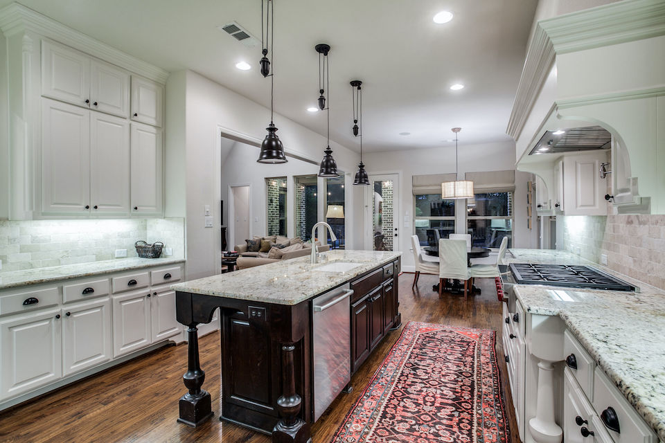 Spacious kitchen at 461 Longwood Drive in Prosper, TX