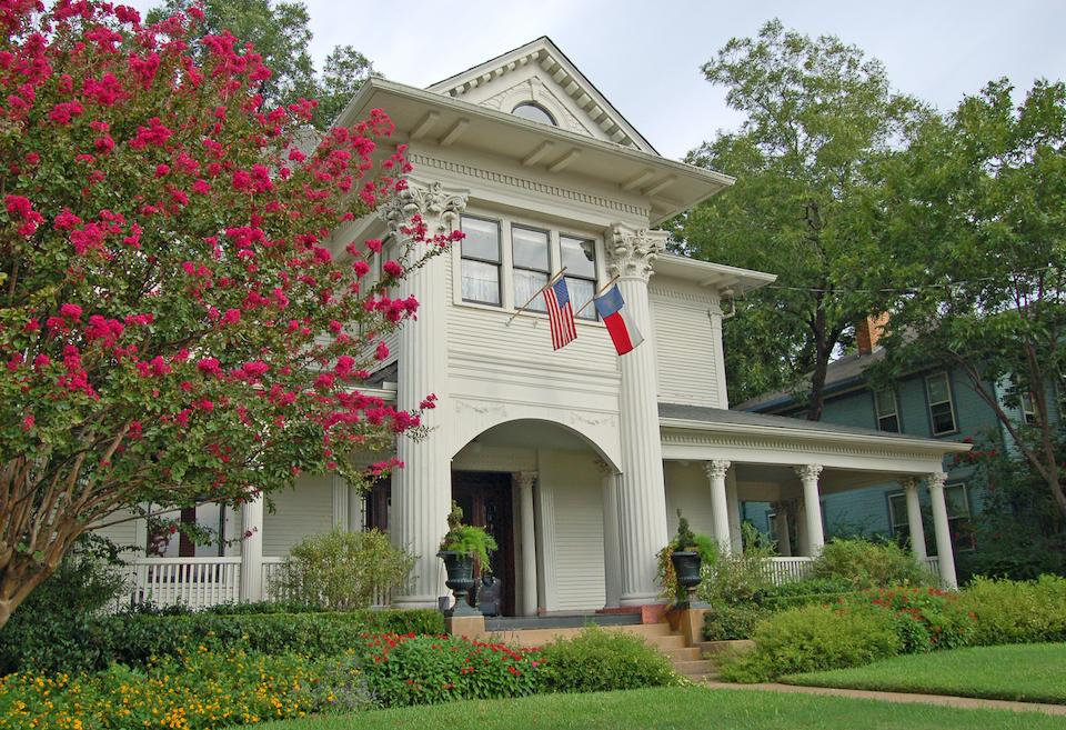 Historic home in Dallas, Texas.