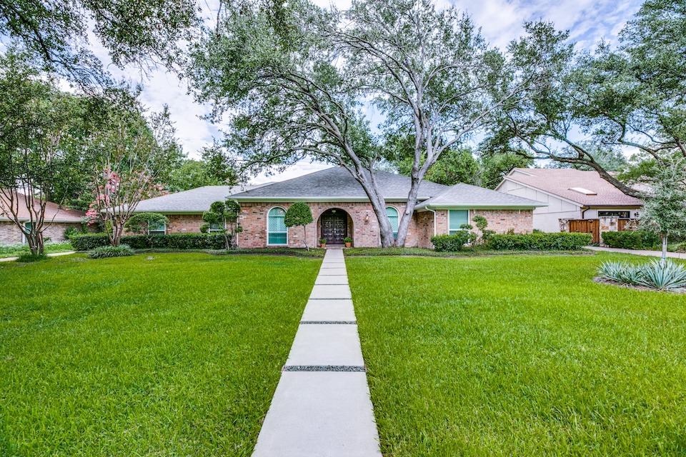 Home at 5217 Northmoor Drive in Dallas, Texas