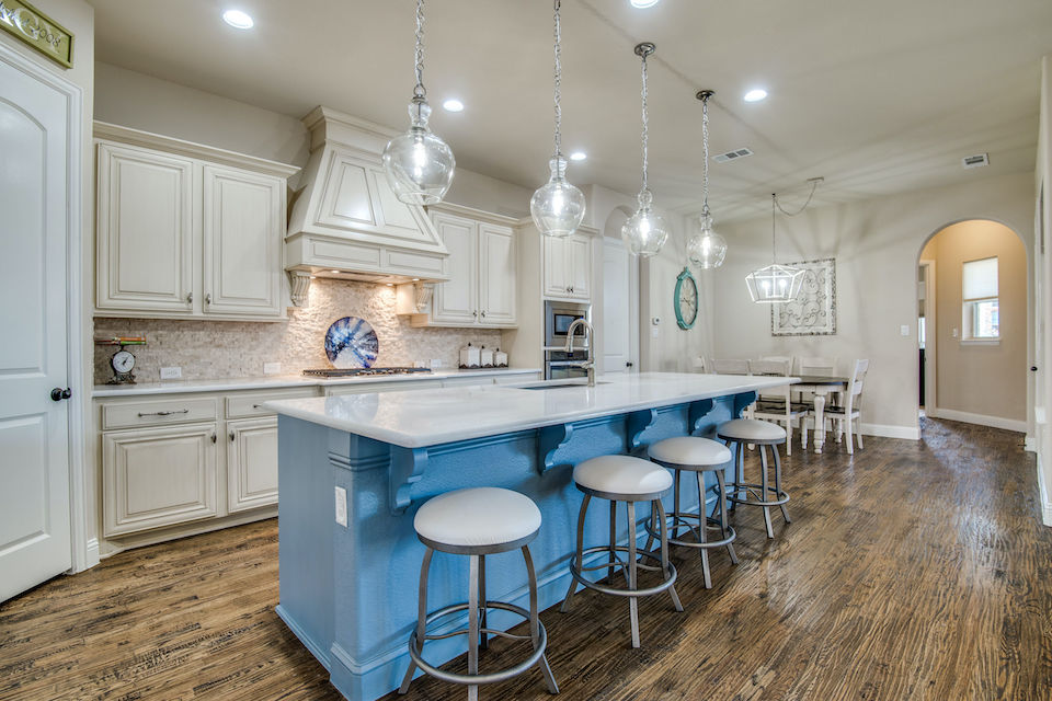 Kitchen at 850 Gaited Trail in Frisco, Texas