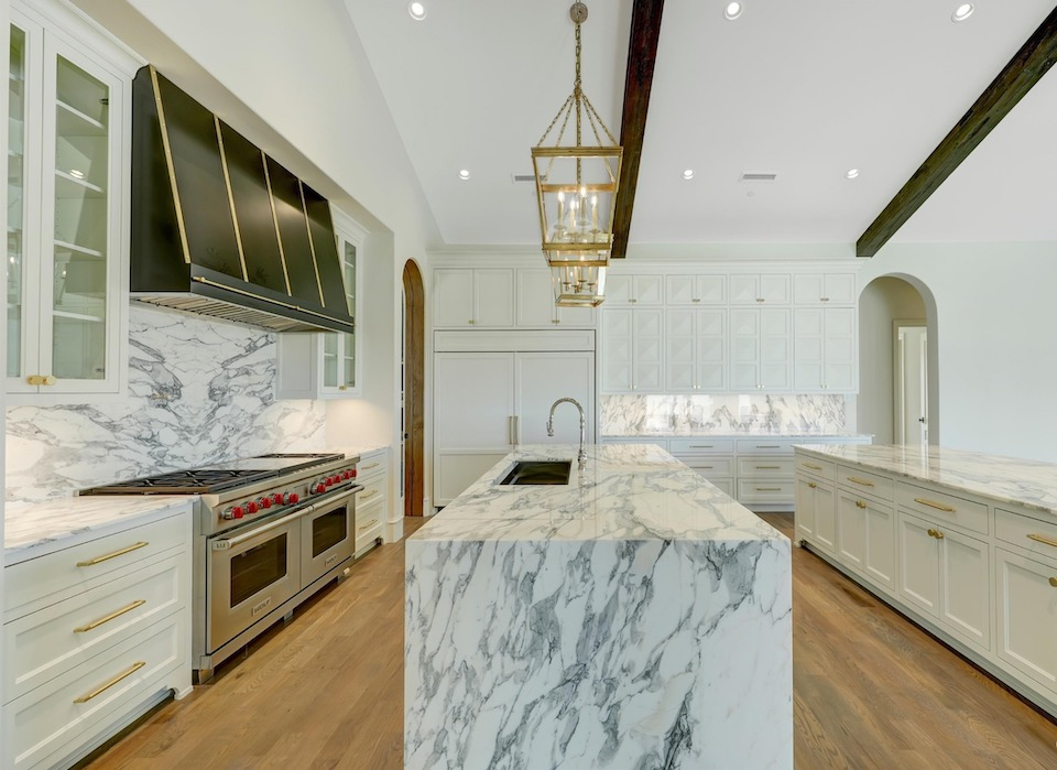 Kitchen at 1876 Lakeshore Drive in Westlake, TX