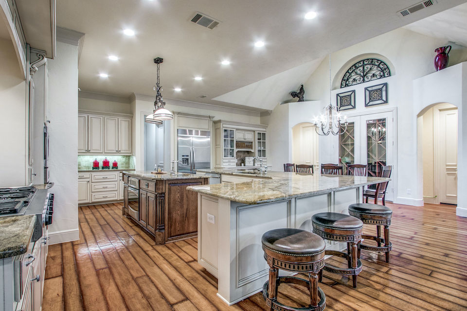 Kitchen at 1310 Noble Way in Flower Mound, Texas
