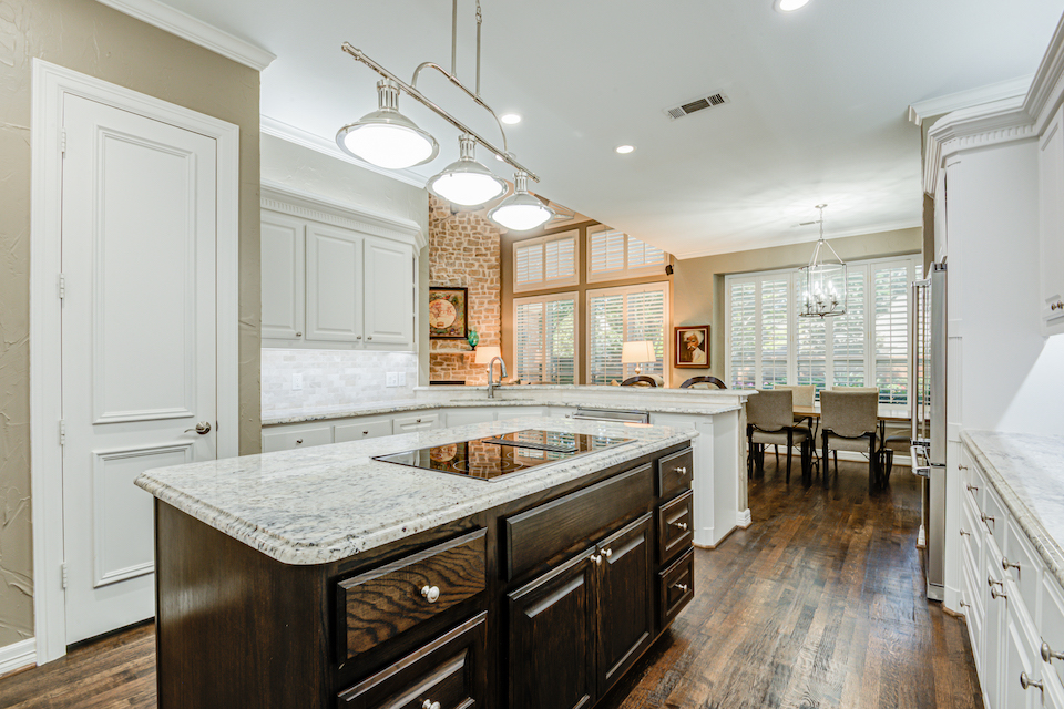 Kitchen at 5965 Caroline Drive in Frisco, Texas